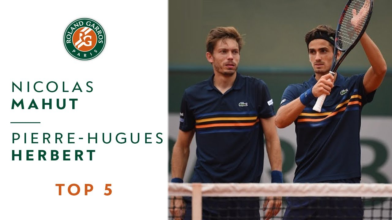 Nicolas Mahut and Pierre-Hugues Herbert - TOP 5 | Roland Garros 2018