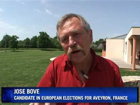On the road with French activist Jose Bove