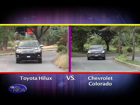 Toyota Hilux vs Chevrolet Colorado -  Head 2 Head