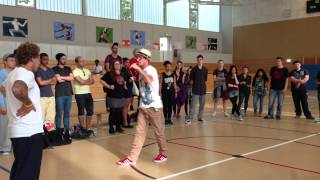 Funk the Beat---popping---final battle---Angelpop vs Miro