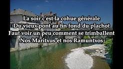 Les fêtes de Mauléon (Nouvelle version) - Joueurs J.S.Riscloise [Avec Paroles]