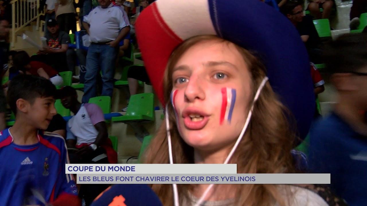 Coupe du Monde : Les Bleus font chavirer le coeur des Yvelinois