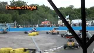Superstox Aldershot Raceway (Spedeworth) 09/06/2013 Heat 1