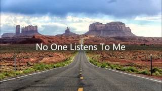Blues/acoustic song: No One Listens To Me by Matt Seymour