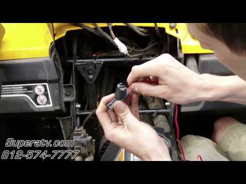 [DIAGRAM_38IS]  Can-Am Commander Light Wiring Harness Install - Super ATV - YouTube | Can Am Wiring Diagram |  | YouTube