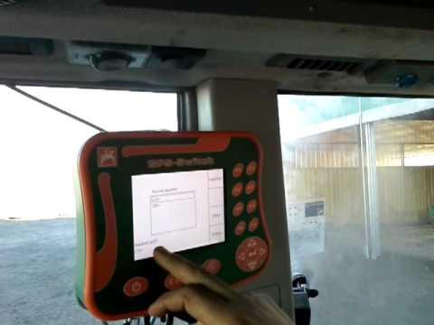 Amazone changement largeurPresentation distributeur engrais AMAZONE ULTRA 4200 hydro premium