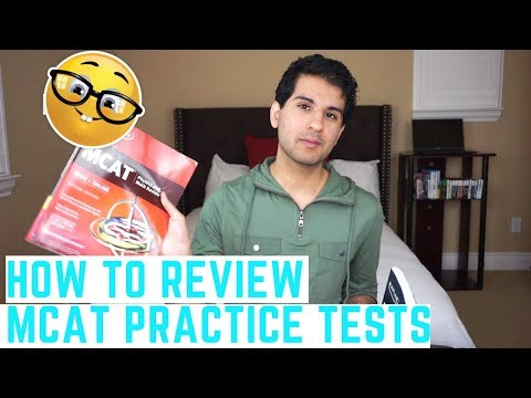 How to Properly Review Your MCAT Practice Tests | Medbros