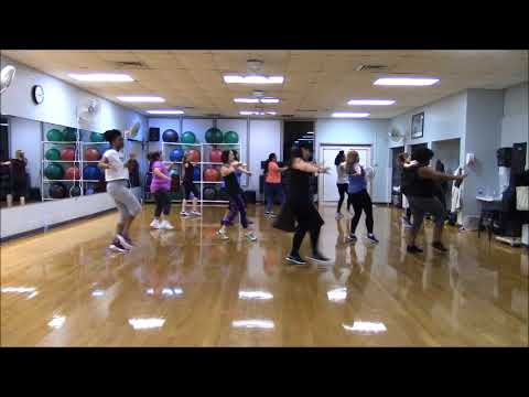 Girls Town ~ Bunji Garlin ~  Zumba®/Dance Fitness~ arm routine