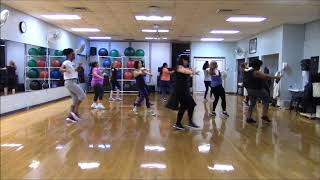 Girls Town ~ Bunji Garlin ~  Zumba®/Dance Fitness~ arm focus