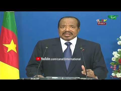 Cameroun: Discours Du Président Paul Biya Du 31/12/2019