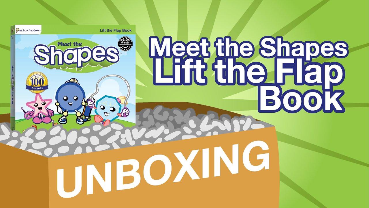 Meet the Shapes Lift the Flap Book | UNBOXING | Preschool Prep Company
