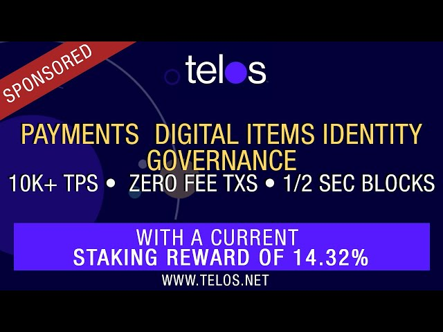 Delegated Proof Of Stake (DPOS) Hidden Gem: Telos Blockchain Overview + 1,000 Token Giveway!