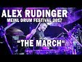 "Capture de la vidéo Meinl Drum Festival - Alex Rudinger ""The March""  (7Horns7Eyes)"