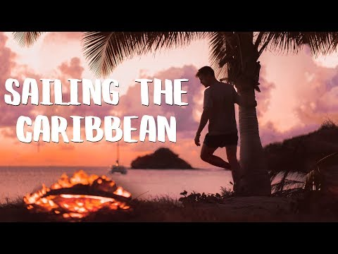 Bonfire Sunsets in Antigua - Sailing the Caribbean