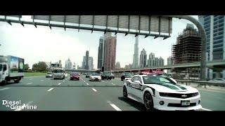 Dubai Police Super Cars Camaro SS, One-77, SLS AMG, Bentley, Lamborghini, Ferrari,