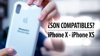 ¿Las fundas del iPhone X y XS son compatibles entre sí?