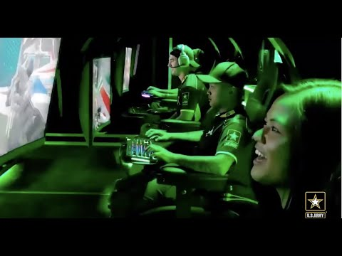 Soldiers Represent the U.S. Army in Esports