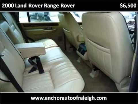 2000 land rover range rover used cars raleigh nc youtube. Black Bedroom Furniture Sets. Home Design Ideas