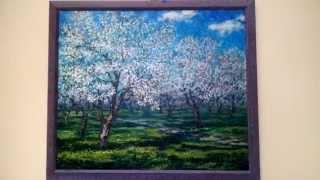 "Картина «Яблоневый сад» / The painting ""Apple Orchard"" I Art Gallery"