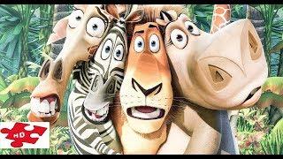 Мадагаскар 1-3 Части / Смешные. Прикольные моменты для Настроения / трейлер-нарез
