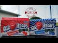 NEW - Airheads Gum - Cherry and Blue Raspberry Flavors