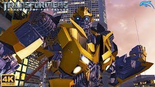 Transformers: Revenge of the Fallen - Wii Gameplay 4k 2160p (DOLPHIN)