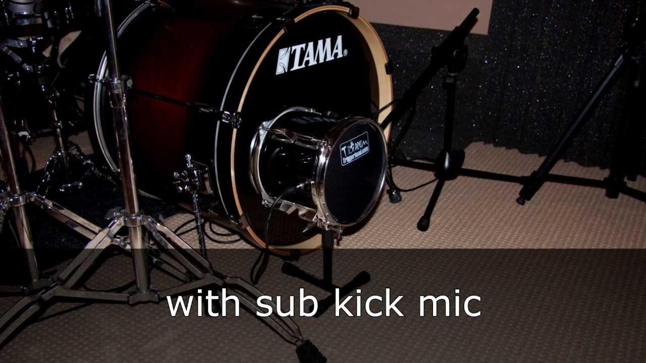 diy sub kick mic testing 3 woofer sizes youtube. Black Bedroom Furniture Sets. Home Design Ideas