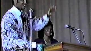 Miss America (1990) Debbye Turner visits Benedict College