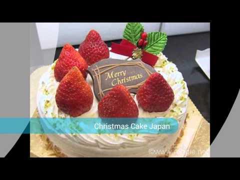 Cultural Christmas Cake Japan