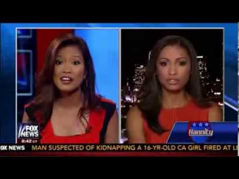 Michelle Malkin                                    VS Eboni Williams - The Race Card Debate on                                     Hannity                                    - August 12, 2013