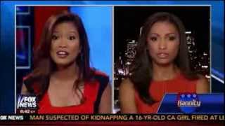 Michelle Malkin VS Eboni Williams - The Race Card Debate on Hannity Show - August 12, 2013