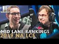 Mid Lane Player Rankings For the 2019 NA LCS | Lol esports