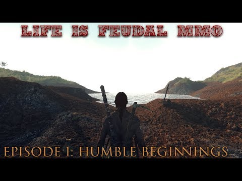 Life is Feudal: MMO - S1| Episode 1: Humble Beginnings of a Master ⚒Blacksmith (1080p) 60FPS