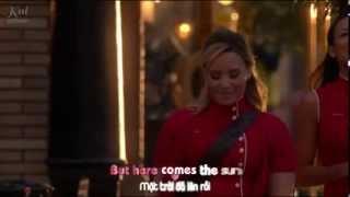 [Vietsub - Kara] Here Comes The Sun - Glee