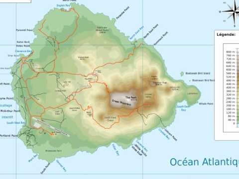 Ascension Island is a volcanic island in the equatorial waters of the South Atlantic Ocean,