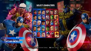 Marvel Vs Capcom Infinite PC 1440p 60FPS High Settings Test (evil ryu)