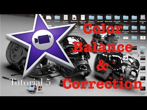 How to Color Balance & Correction in iMovie 10.0 | Tutorial 5