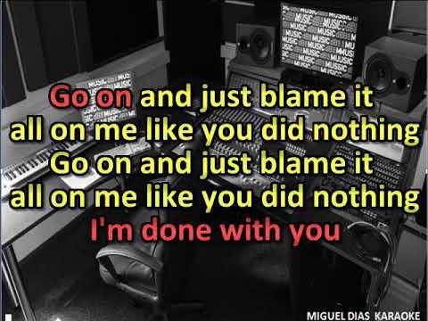 Aurea - Done With You (Karaoke) Versão