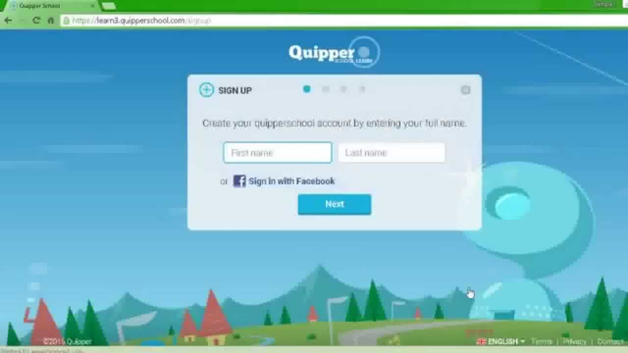 How to Sign up in Quipper school? - YouTube