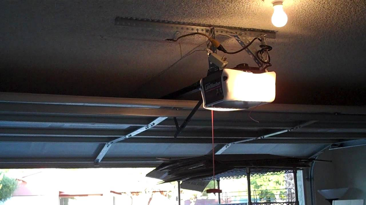 Liftmaster 1 2 Hp Garage Door Opener Troubleshooting