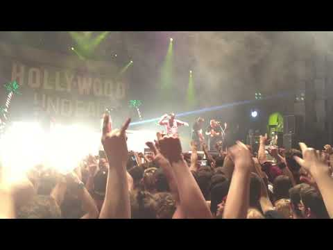 Hollywood undead - Riot live in Prague
