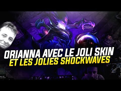 ORIANNA AVEC LE JOLI SKIN ET LES JOLIES SHOCKWAVES