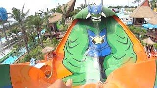 Humunga Water Slide at Cartoon Network Amazone Waterpark