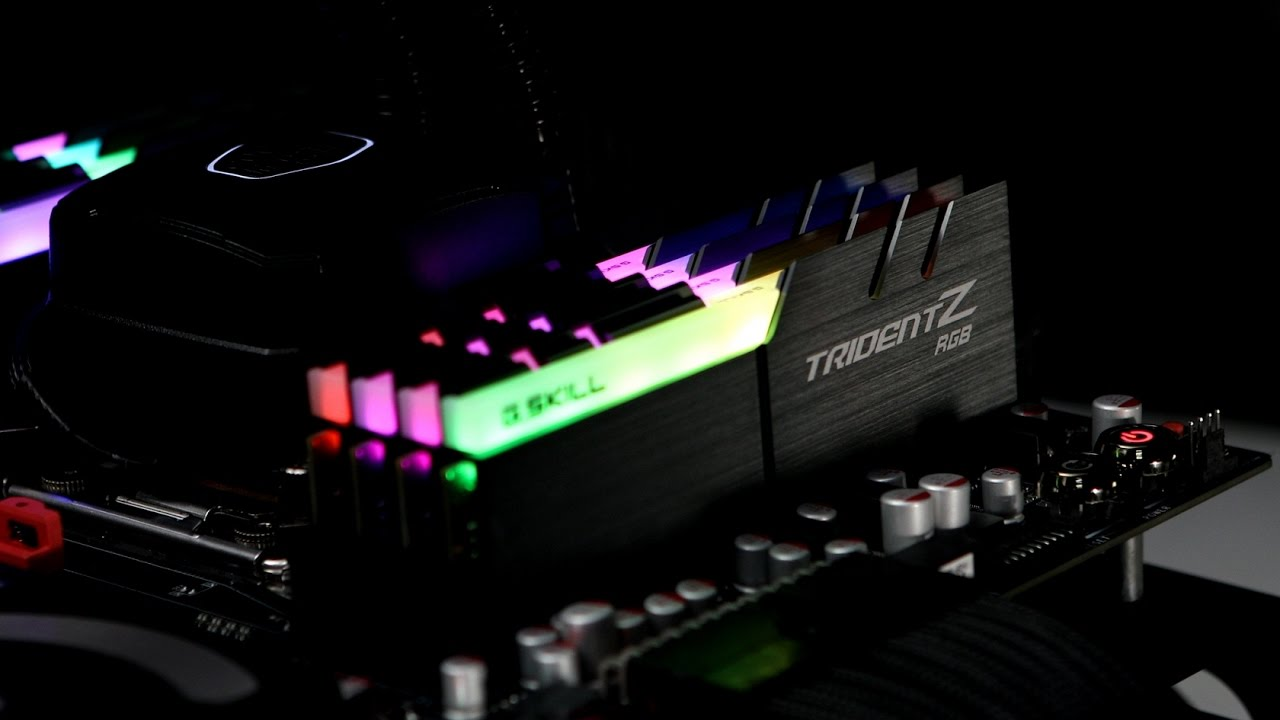 Trident Z Rgb Series Ddr4 The World S Most Brilliant Rgb