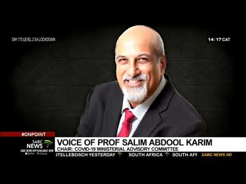 No reason why South Africa should not move to Level 1: Prof. Abdool Karim