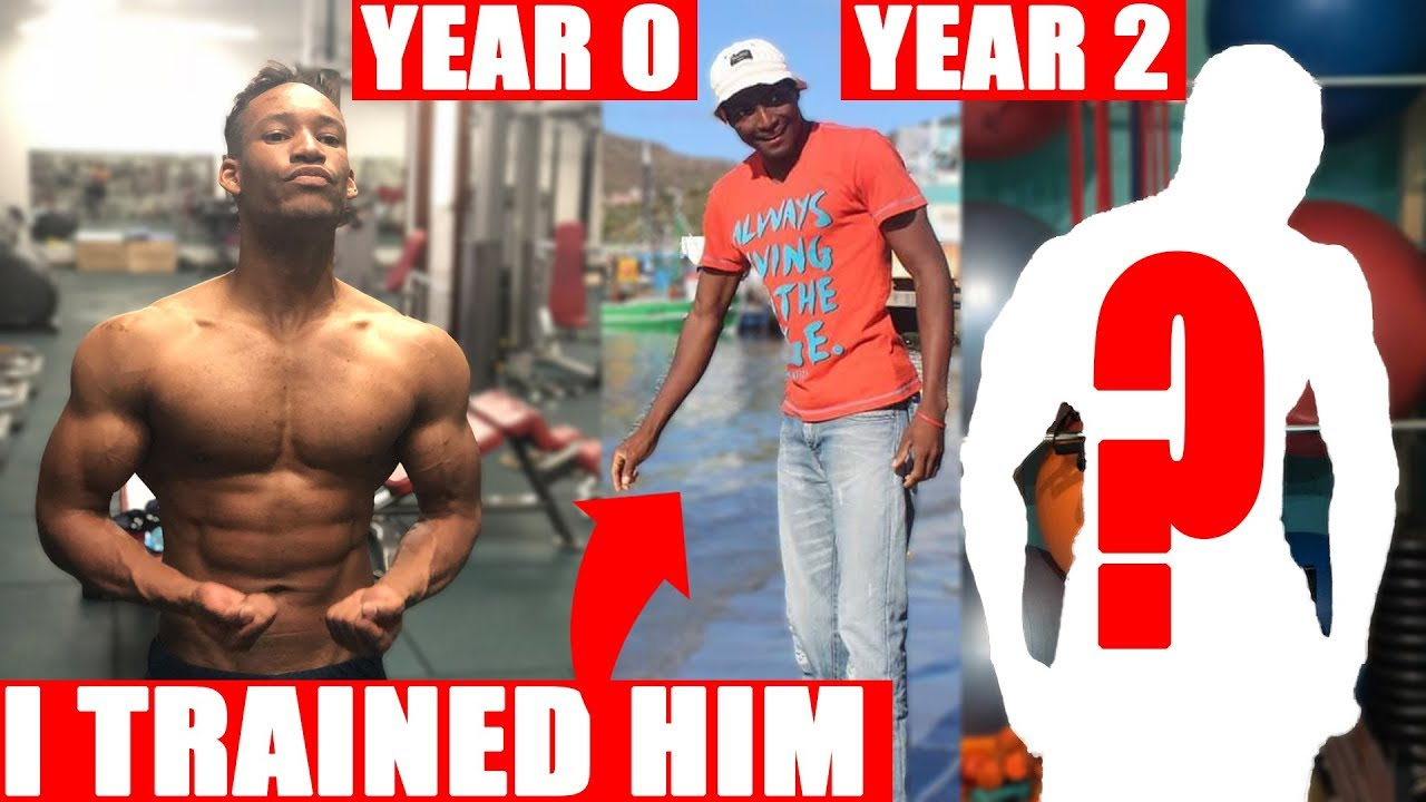 I Trained Him for 2 Years - From Skinny Fat To Muscular Transformation