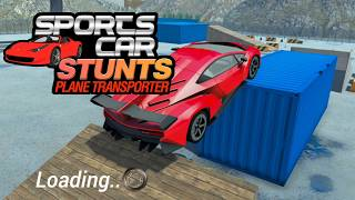 Sports Car Stunts Plane Transporter | Awesome Drifting Driving Sports Car Racing Challenge