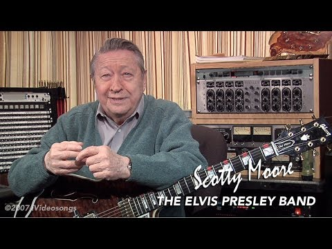 How to Play Heartbreak Hotel by Elvis Presley on Guitar with Scotty Moore