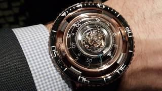 MB&F Horological Machine №7 Aquapod обзор механических часов