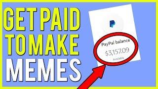 Earn PayPal Money Just Making MEMES! (Fun & Creative Way to Make Money)
